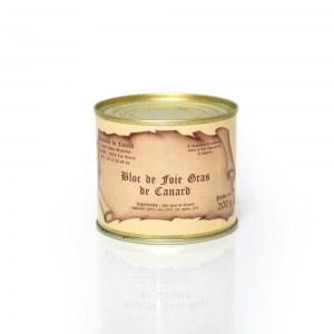 Bloc de foie gras de canard 200 g