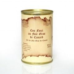 Cou farci au foie gras de canard 350 g
