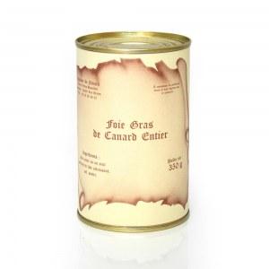 Foie gras de canard entier 350 g