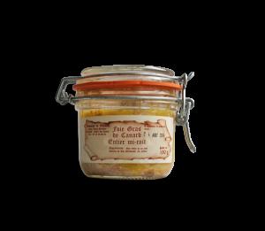 Foie gras de canard mi-cuit 190 g
