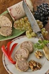 Cou farci au foie gras canard