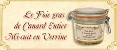 Foie gras mi-cuit en verrine