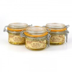 Lot de 3 - Foies gras de canard entier 120g
