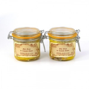 Lot de 2 - Foies gras de canard 320g
