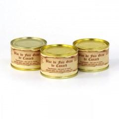 Lot de 3 - Blocs de foie gras de canard 65g