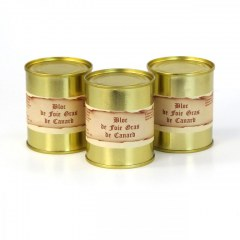 Lot de 3 - Blocs de foie gras de canard 130g