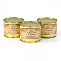 Lot de 3 Blocs de foie gras de canard 200g