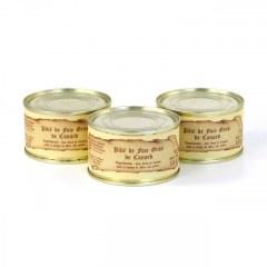 Lot de 3 - Pâtés de foie gras de canard 130g