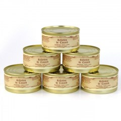 Lot de 6 - Rillettes de canard 200g