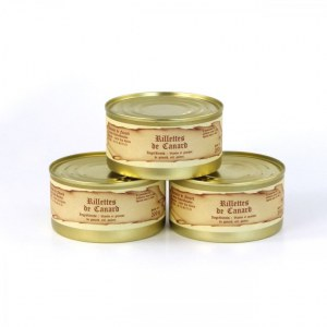 Lot de 3 - Rillettes de canard 200g