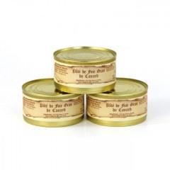Lot de 3 - Pâtés de foie gras de canard 190g