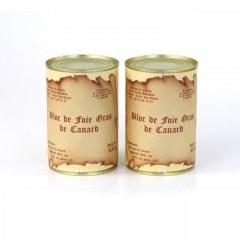 Lot de 2 Blocs de foie gras de canard 400g