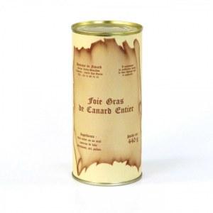 Foie gras de canard entier 440 g