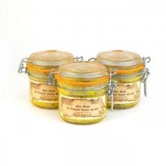 Lot de 3 - Foies gras de canard mi-cuits 190g
