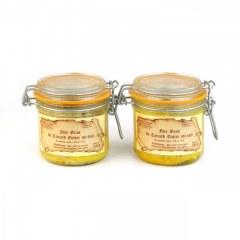 Lot de 2 - Foies gras de canard mi-cuits 320g