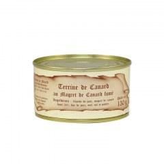 Terrine de Canard au Magret de Canard Fumé