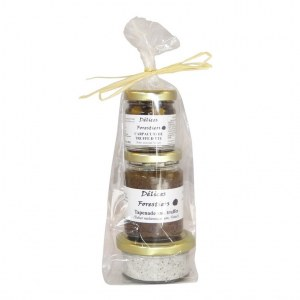 Lot Sel à la truffe d'été / Carpaccio de truffe d'été / Tapenade aux truffes noires